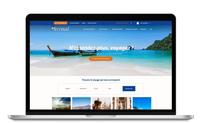 Nouveau site web Groupe Perraud