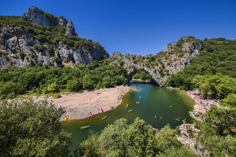 Voyage scolaire Ardèche Pont d'Arc