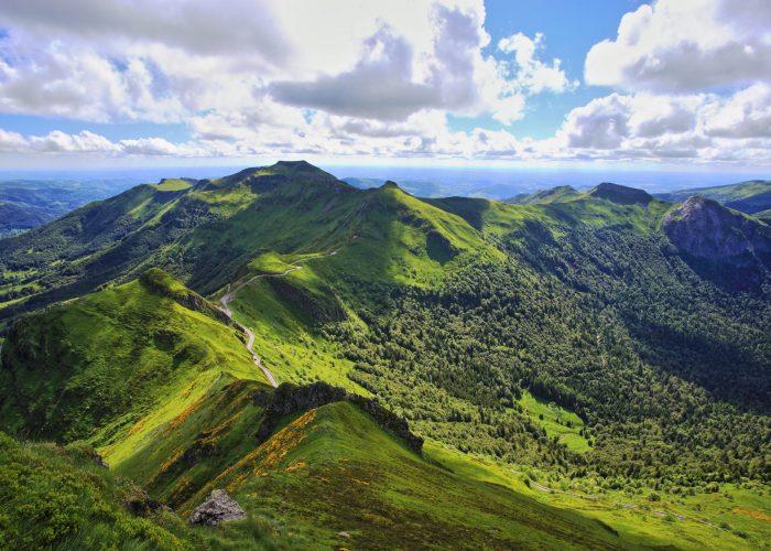 Voyage scolaire Auvergne volcan