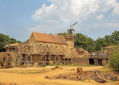 Voyage scolaire Bourgogne Guedelon