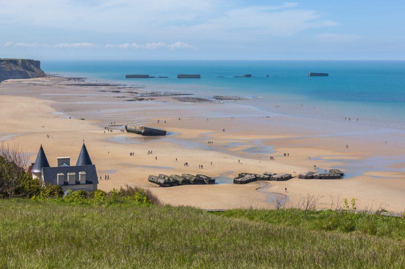 Voyage scolaire Normandie Arromanches
